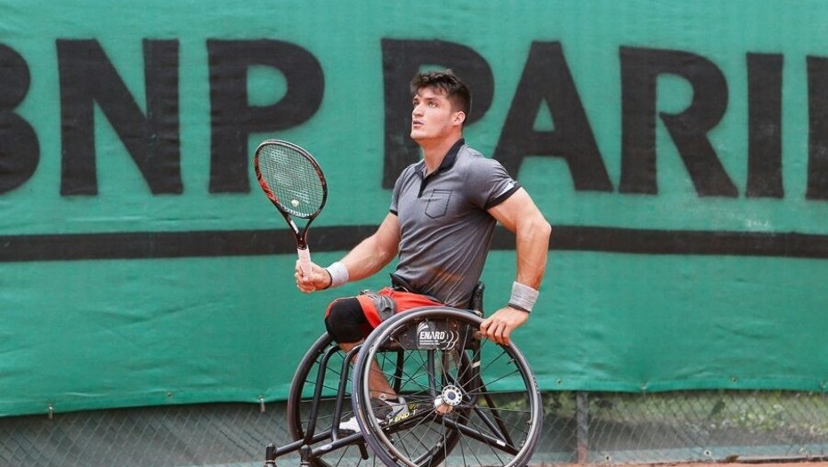 Tenis adaptado: Gustavo Fernández arranca una nueva gira