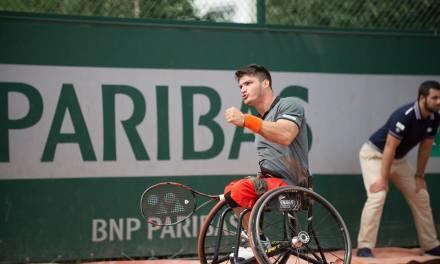 Tenis adaptado: Gustavo Fernández, finalista en Francia