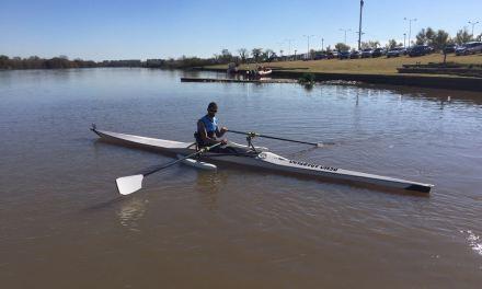 Remo paralímpico: campamento internacional en Tigre