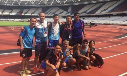 Atletismo: Argentina se concentra en el CeNARD