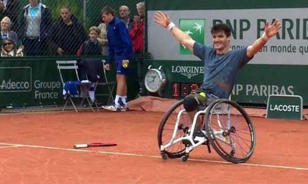 Tenis: ¡Gustavo Fernández, finalista de Roland Garros!