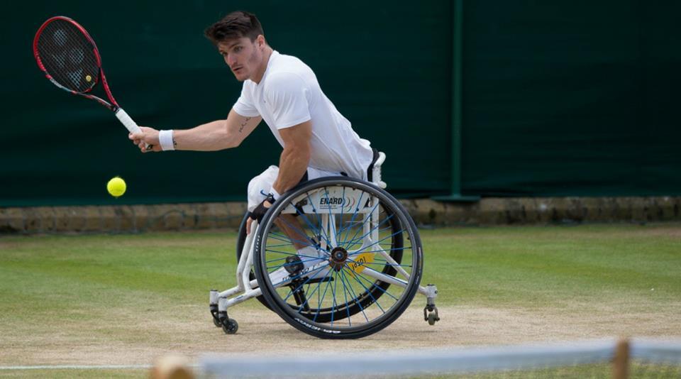 Tenis adaptado: Gustavo Fernández y un debut tremendo en Wimbledon
