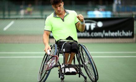 Tenis adaptado: Gustavo Fernández avanza en el British Open