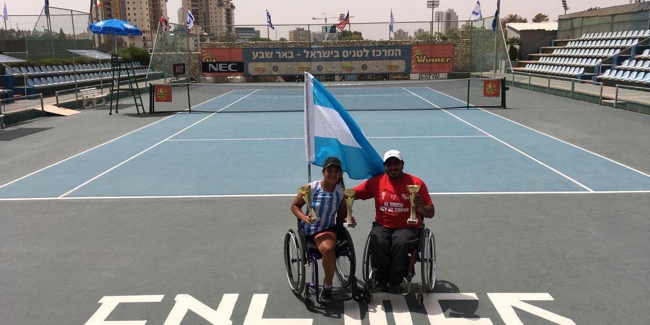 Tenis adaptado: Ledesma y Moreno avanzan en Alemania