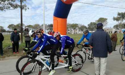 Paraciclismo: en Santa Fe, los tándem de la Selección se prepararon para el Mundial