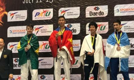Parataekwondo: Facundo Novik, bronce en Estados Unidos