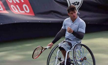 Tenis adaptado: Gustavo Fernández, firme en Bélgica
