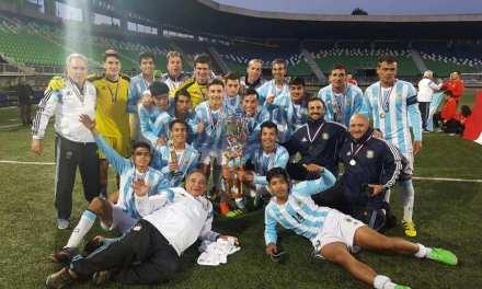 Fútbol: Los Halcones viajan a Suecia para jugar el Mundial