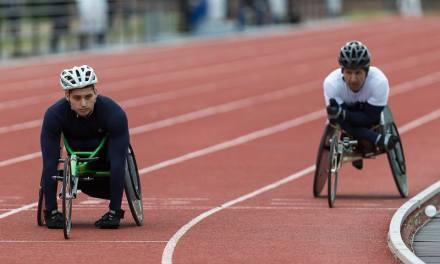 Atletismo paralímpico en el CENARD