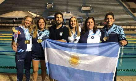 Natación: Argentina obtuvo 16 medallas en el Open Panamericano de sordos de Ecuador