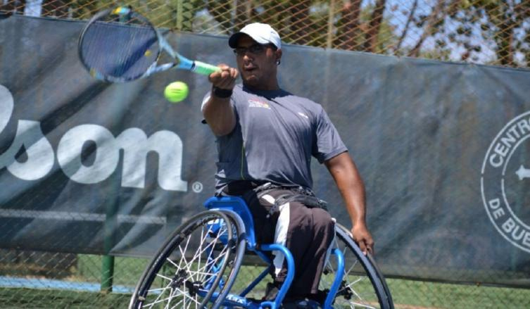 Tenis adaptado: Ledesma avanza en Estados Unidos