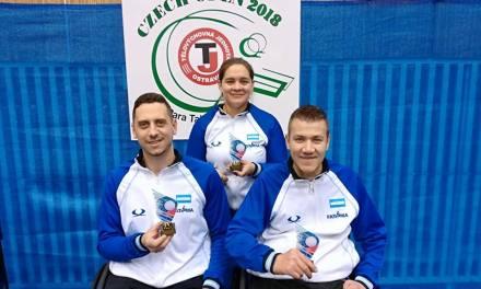 Tenis de mesa adaptado: tres medallas en República Checa