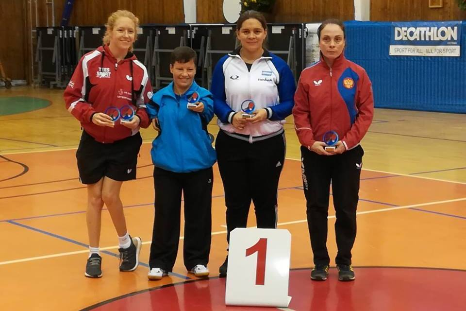Tenis de mesa adaptado: cinco medallas argentinas en República Checa