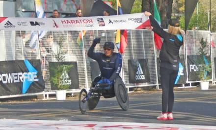 El colombiano Sanclemente, tricampeón de la Maratón de Buenos Aires