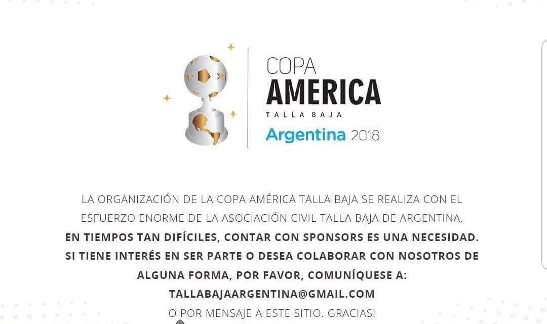 La Selección Argentina de talla baja busca fondos para la Copa América
