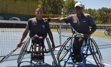 Tenis adaptado: Ledesma y Casco avanzan en Brasil