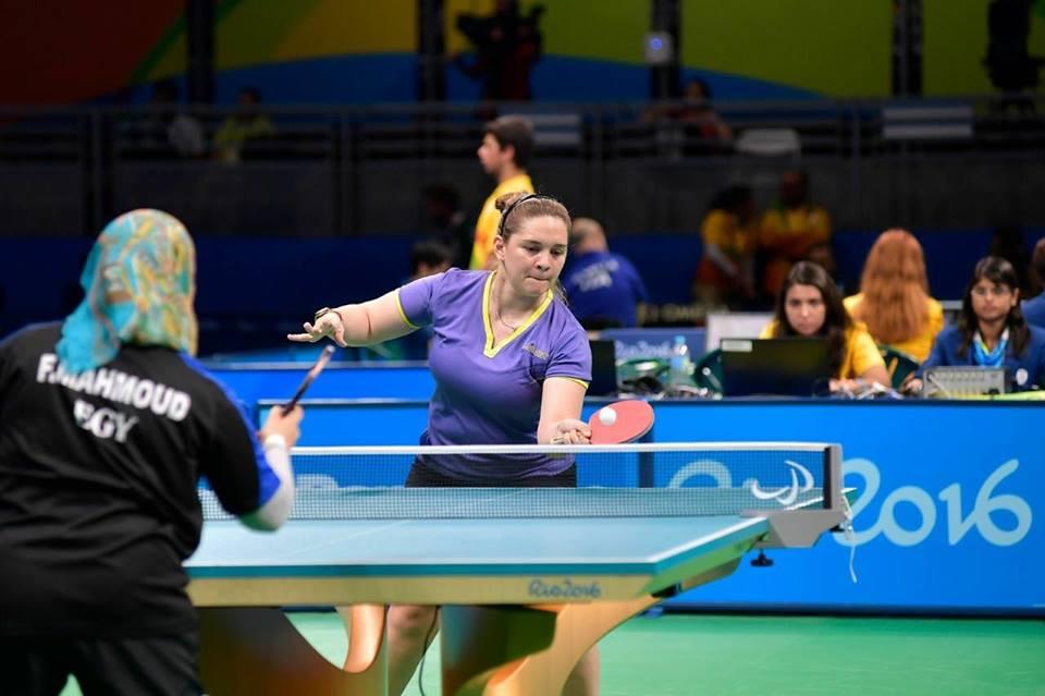 Tenis de mesa adaptado: Giselle Muñoz, elegida mejor atleta paralímpica americana del mes de septiembre