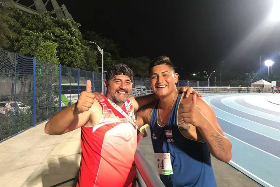 Atletismo: Hernán Urra, récord americano en Colombia