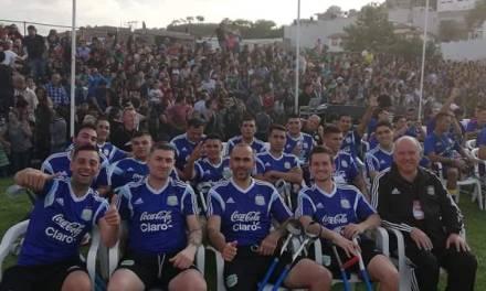 Fútbol para amputados: Argentina empató con Francia en el debut