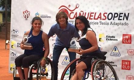 Tenis adaptado: Cabrillana y Medrano, dueñas del dobles femenino del Cañuelas Open 2018