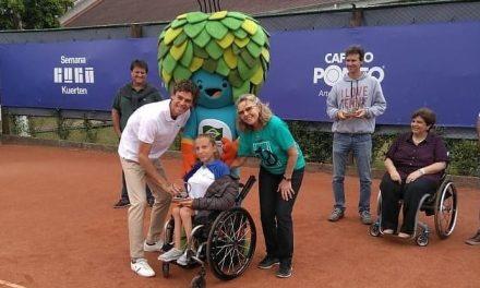Tenis adaptado: Nicole Dhers, subcampeona en Brasil