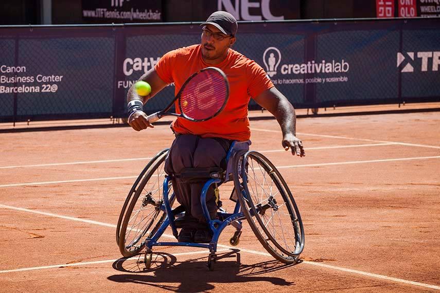 Tenis adaptado: Ledesma, semifinalista en Brasil