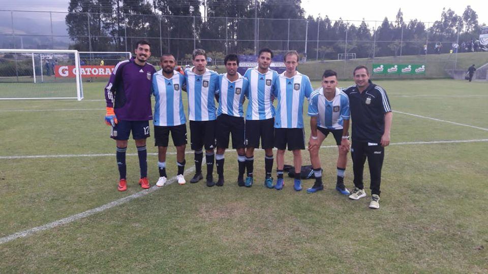 Fútbol 7: Argentina, finalista de la Copa América