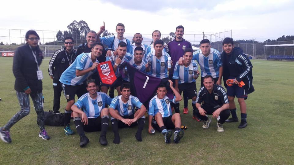 Fútbol 7: Argentina, subcampeón de la Copa América