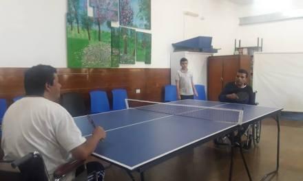 Tenis de mesa adaptado: capacitación en Burzaco