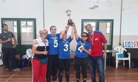 Goalball femenino: Las Halconas de Mendoza, campeonas
