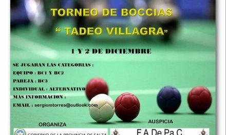 Boccia: torneo en Salta
