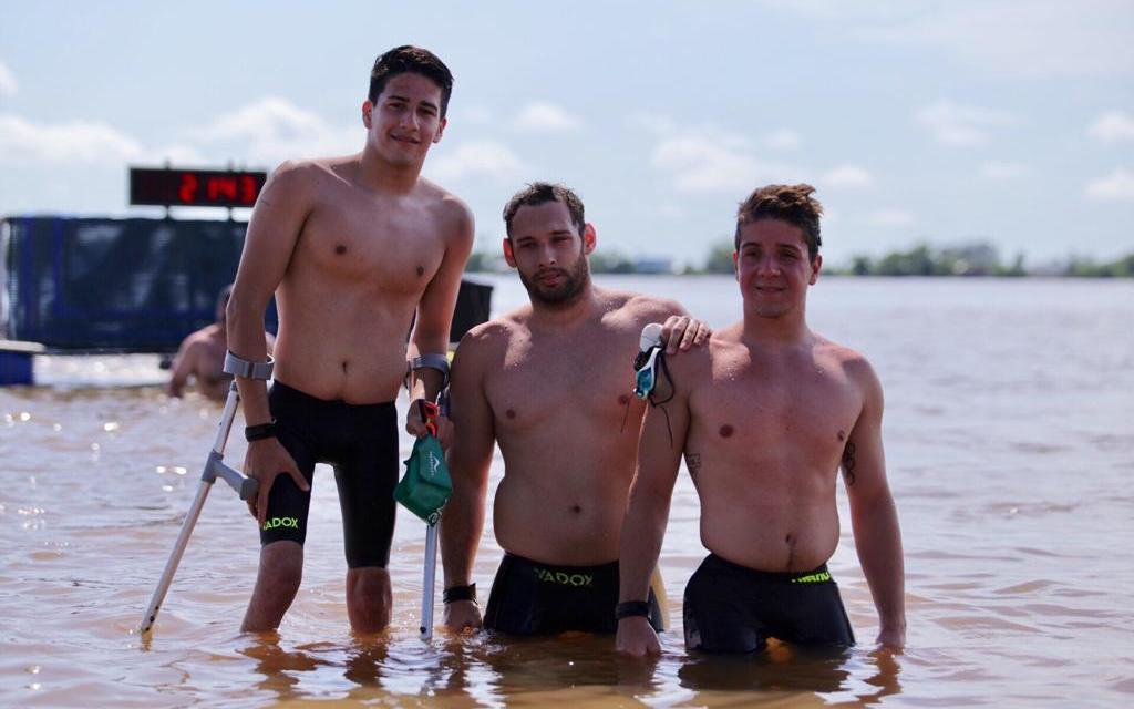 El deporte adaptado tuvo su espacio en los Juegos Nacionales de Playa en Rosario