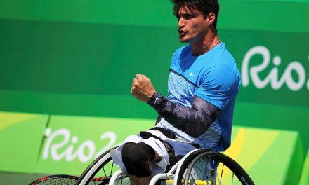 Tenis adaptado: Fernández sigue firme en el Masters de dobles