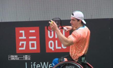 Tenis adaptado: Fernández llegó hasta semifinales en el Master de dobles