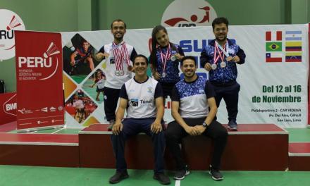 Parabadminton: cinco medallas más para Argentina en Perú