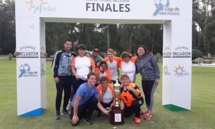Fútbol inclusivo: Colonia Montes de Oca, campeón nacional