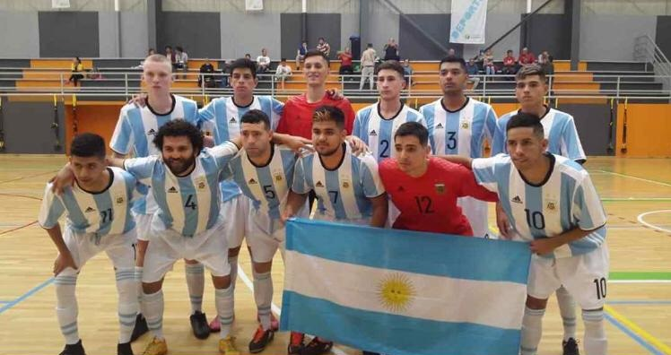 Futsal para sordos: Argentina aplastó a Brasil en las eliminatorias sudamericanas