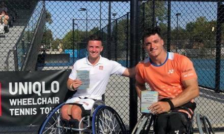 Tenis adaptado: ¡Gustavo Fernández, campeón en Australia!