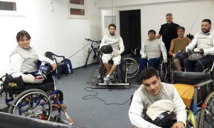 Esgrima paralímpica: la selección argentina apunta hacia Tokio 2020