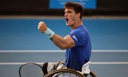 Tenis adaptado: buen arranque para Gustavo Fernández en Melbourne
