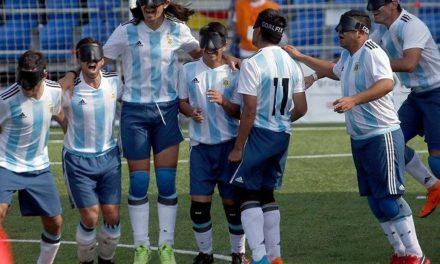 Fútbol para ciegos: Los Murciélagos, listos para el Grand Prix