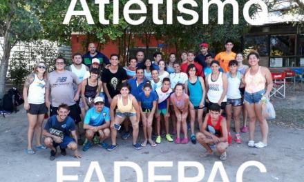 Atletismo: concentración en Lobería