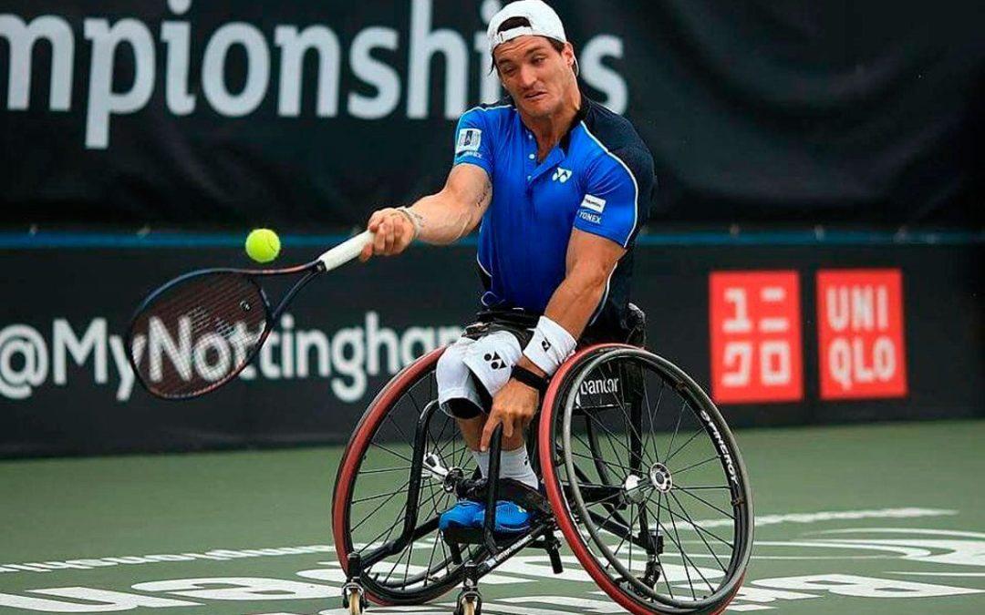 Tenis adaptado: los argentinos se despidieron del Abierto de Georgia