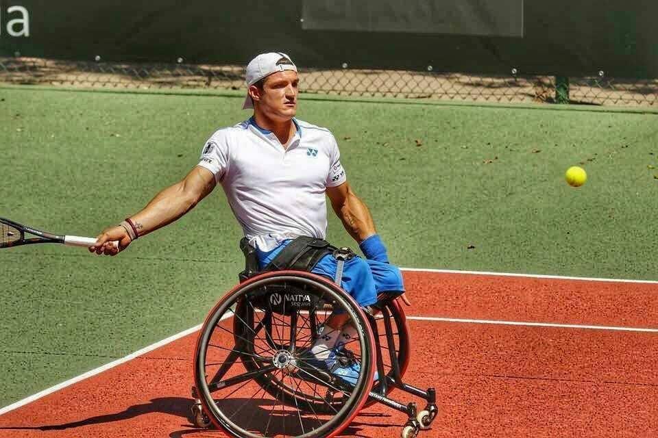 Tenis adaptado: Gustavo Fernández llegó hasta semifinales en Estados Unidos