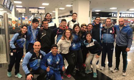 Atletismo: competencia en el CENARD