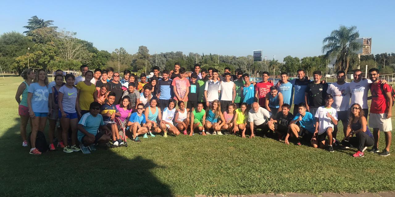 Atletismo: la selección trabaja en Ezeiza y Bolívar