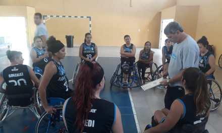 Básquet adaptado: Las Lobas dejaron su huella en Corrientes