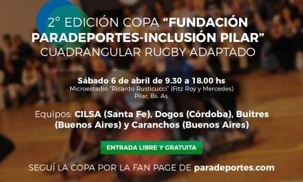 """Se viene la 2da. edición de la """"Copa Fundación Paradeportes – Inclusión Pilar"""" de rugby adaptado"""