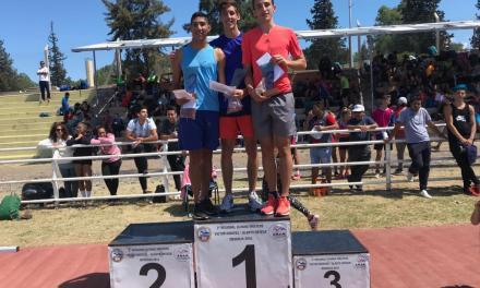 Atletismo: Brian Villarreal se subió al podio en Mendoza