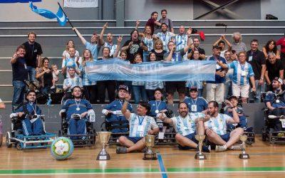 Powerchair football: la selección argentina, lista para la Copa América